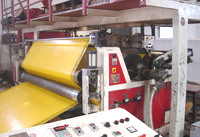 Tarpaulin Fabrics for Extrusion Machine, Weaving Machine.