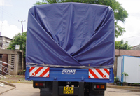 Tarpaulin Fabric for Transportation Uses.